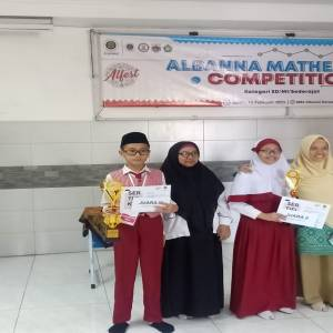 Juara 3 Albanna Mathematic Competition 2020